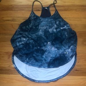 UNDER ARMOUR NWOT dry-fit Slit Tank Top Running